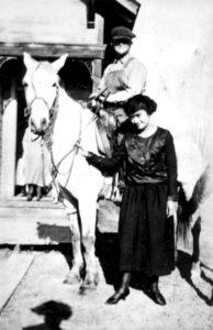 1914 Grandpa Heber on horse copy1