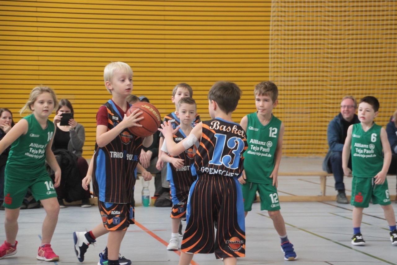 Premiere für viele Baskets-Minis