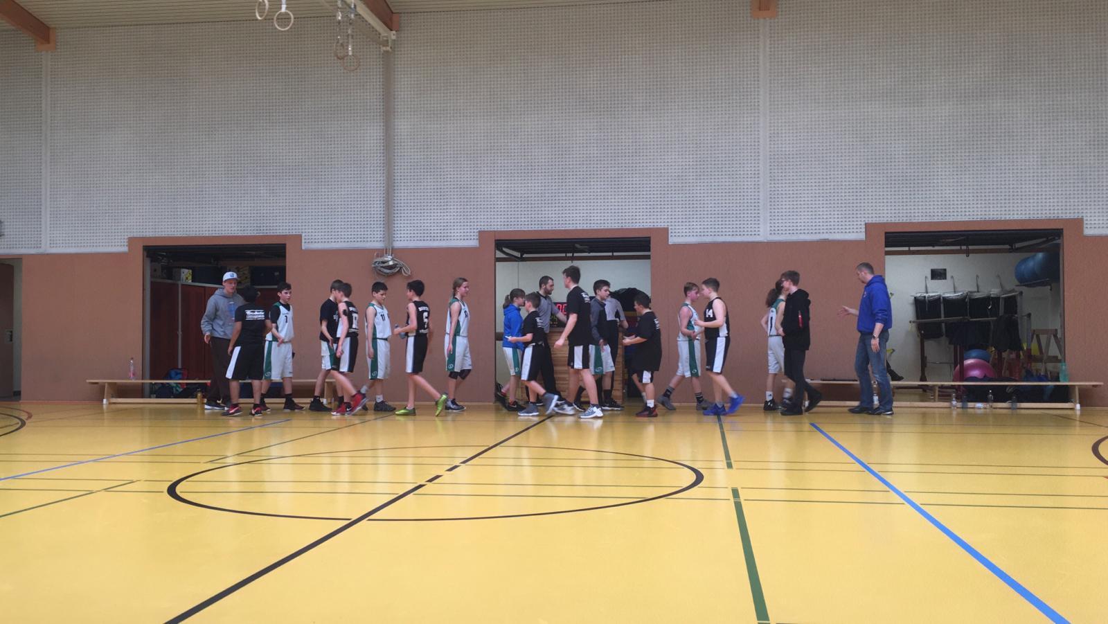 U14II-Kreisliga: Beim Duell auf Augenhöhe fehlt am Ende die Kraft