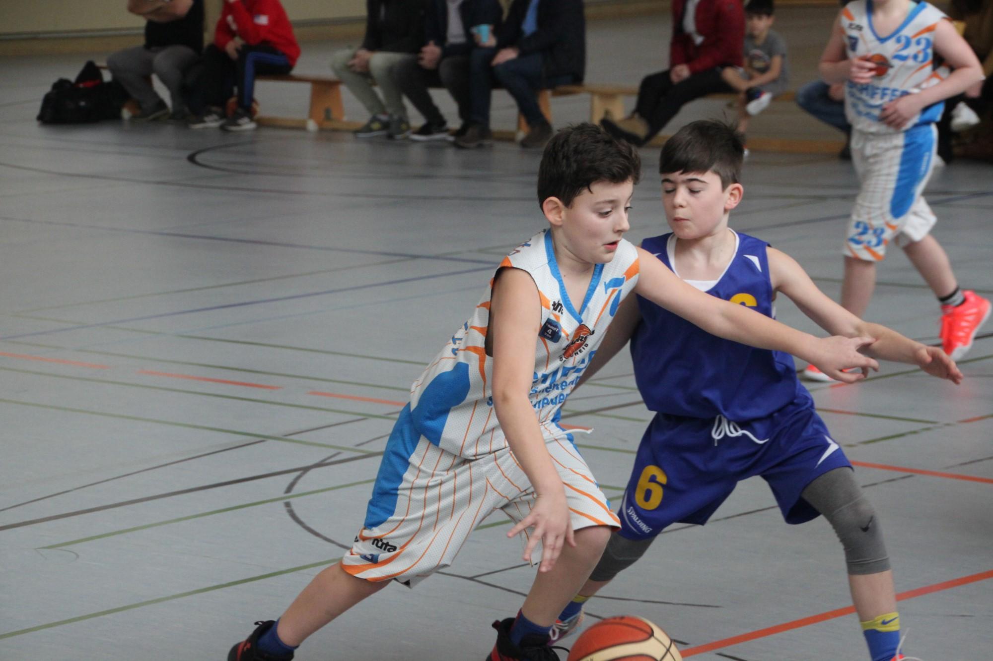 U12-Oberliga: Bärenstarke Defense in zweiter Hälfte