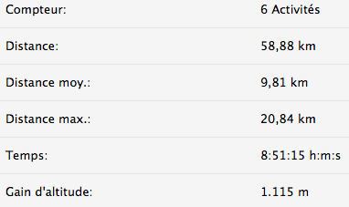 bilan run janvier 2015