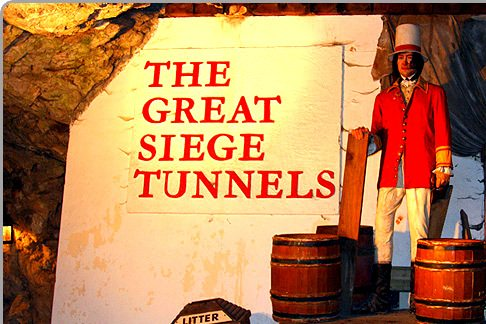 WWII Tunnels Gibralter