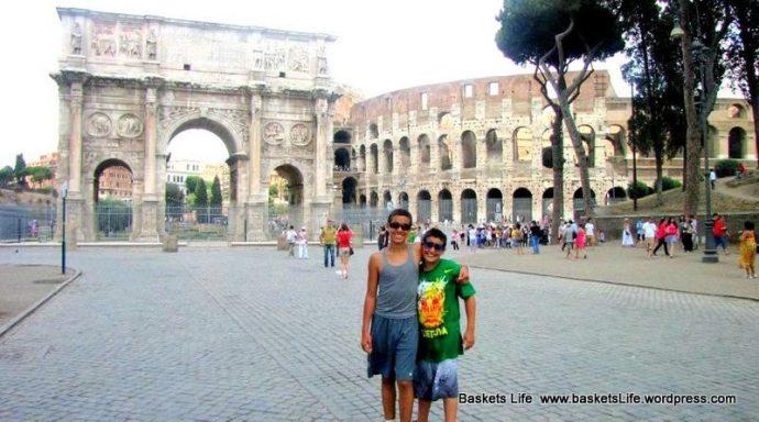 Roman Colosseum for kids