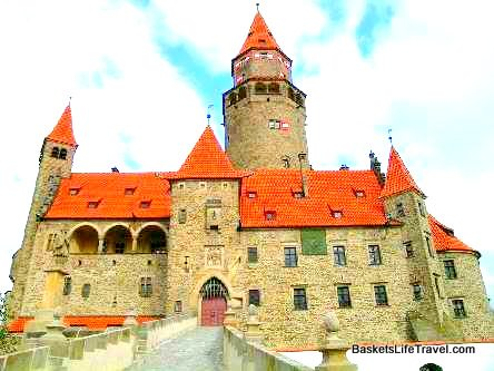 Bouzov Castle Check Republi