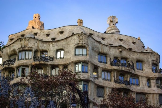 Facts about Casa Mila for Kids, A Gaudi Building in Barcelona, Spain