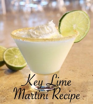 Key Lime Pie Martini Recipe From Key West Florida