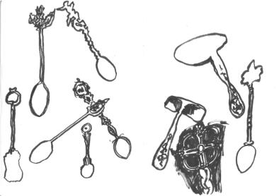 ink brush drawings