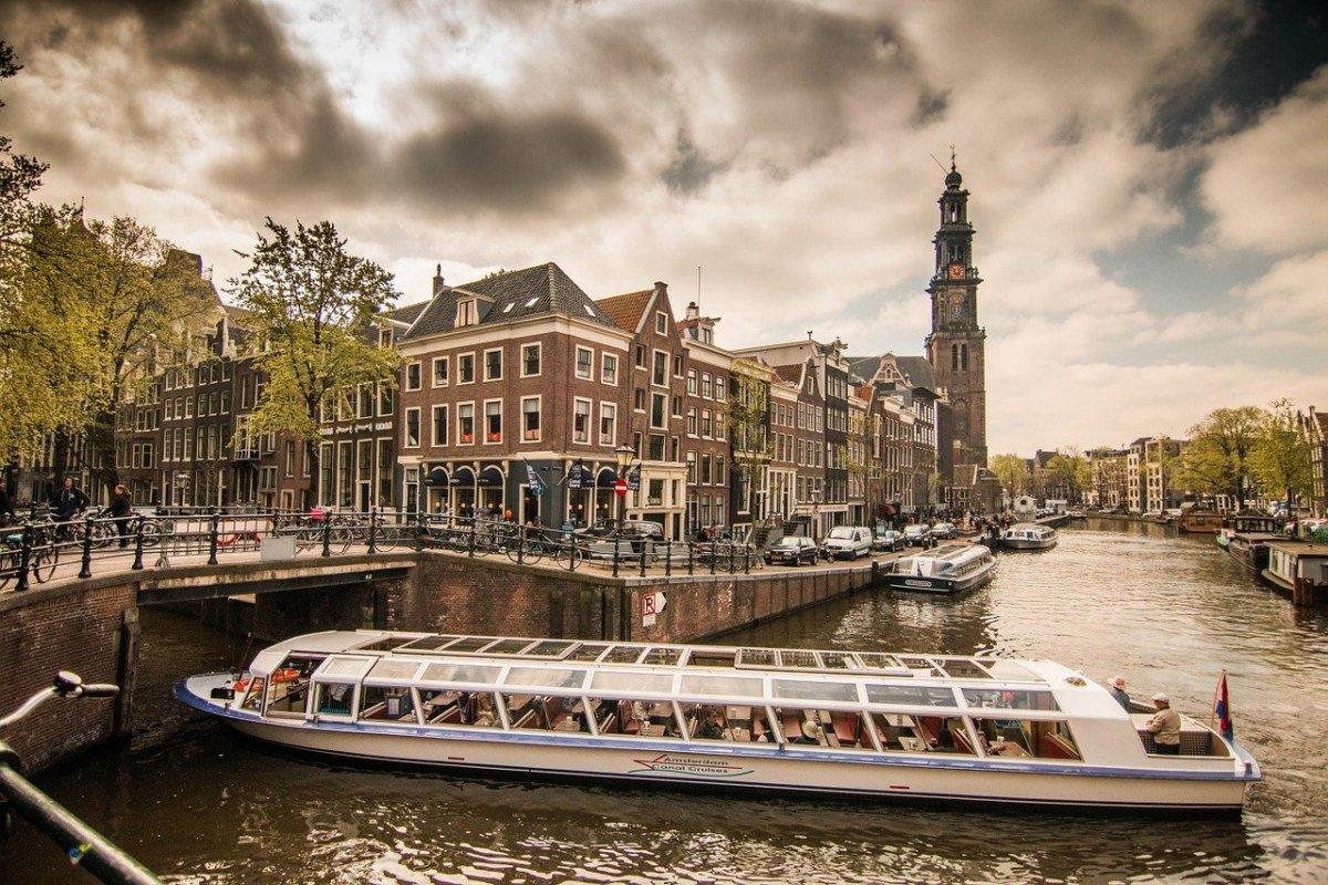amsterdam, channel, netherlands
