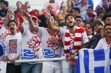 A comunidade grega em São Pulo fez barulho e muita festa (Samuel Vélez)