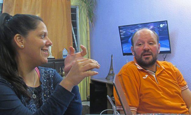 El equipo sin hinchada: Álvaro Aunchayna y Florencia Paz