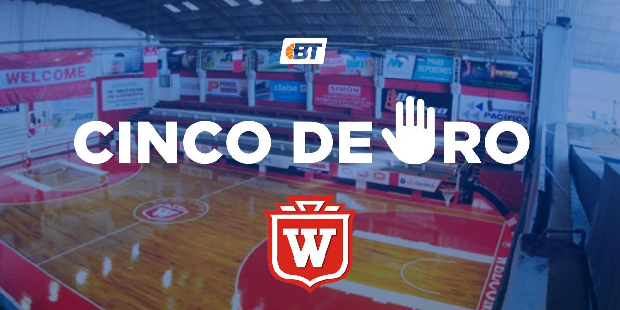 5 de oro: Welcome