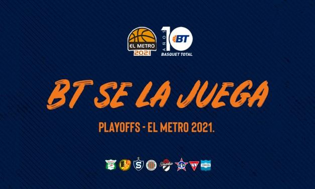 Basquet Total se la juega: Playoffs – El Metro 2021