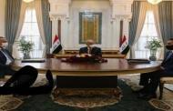 الرئاسات الثلاث تعقد اجتماعاً لمناقشة مجمل الأوضاع في العراق