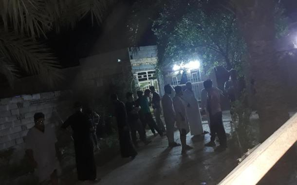 استهداف منزل الناشط حسين الغرابي في الناصرية بعبوة ناسفة
