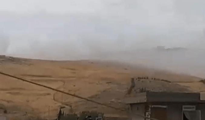 انفجار في مخزن للأسلحة والذخيرة داخل مقر قوات 70 في طاسلوجة