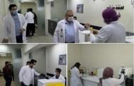 صحة الكرخ :مختبرات مستشفى الكرامة التعليمي تواصل اجراءات اخذ المسحات