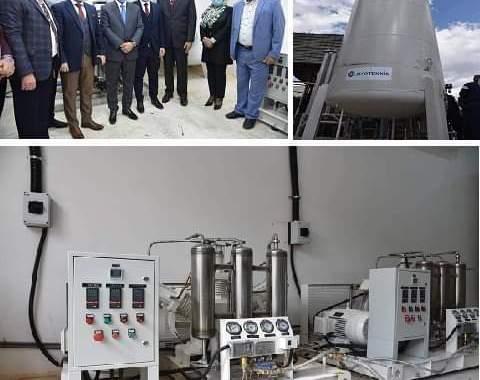افتتاح معملين لانتاج الاوكسجين الطبي في مستشفى اليرموك التعليمي و مستشفى الكرخ