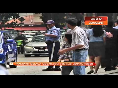 Jenayah siber di Pahang 2015 & 2016