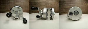 Figure 2.  Pictures of a Japan manufactured DAM Quick 700B casting reel.