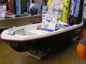Bay Jr. by Scope. Japanese bass boat offered by Popeye's. Photo Terry Battisti 2006.