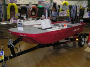 Focus Bass Boat as sold by Popeye's in Japan. Photo Terry Battisti circa 2006.