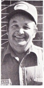 Rayo Breckenridge qualified for his thrid Bass Master Classic in a row in 1975.