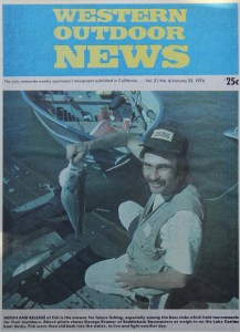 Kramer makes the cover of Western Outdoor News prior to becoming WON Staff. Photo courtesy of George Kramer.
