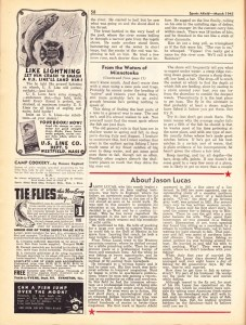 Sports Afield March 1945.