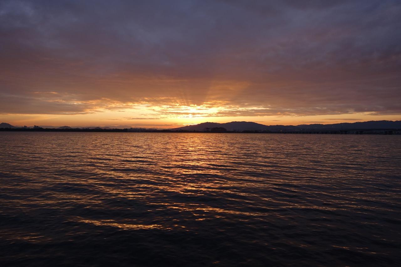 夜明けの由美浜