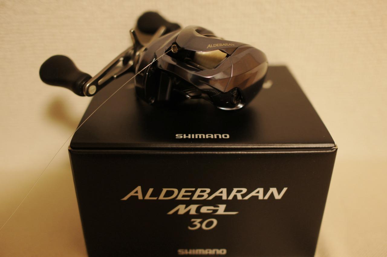 シマノのリール アルデバランMGL30(右ハンドル)