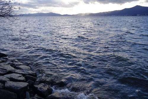 20181227 琵琶湖の木浜エリア