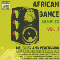 It's HERE!!   Huge Package (0.6 GB) of Africa Dance Samples, Vol. 1: Melodies and Percussion