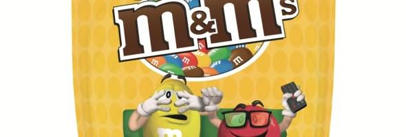 """Fino al 30 novembre """"Vinci un film ogni ora"""" con M&M's!"""