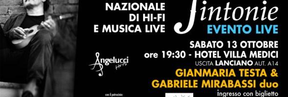Gianmaria Testa a Sintonie, Rassegna Hi Fi e Musica Live