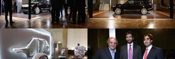 """La nuova Range Rover è stata presentata al """"Salone dei Tessuti"""" a Milano"""