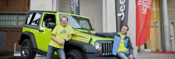 Jeep Sponsor del tour europeo The North Face® Speaker series