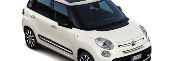 Si aprono gli ordini della nuova Fiat 500L 'Panoramic Edition'