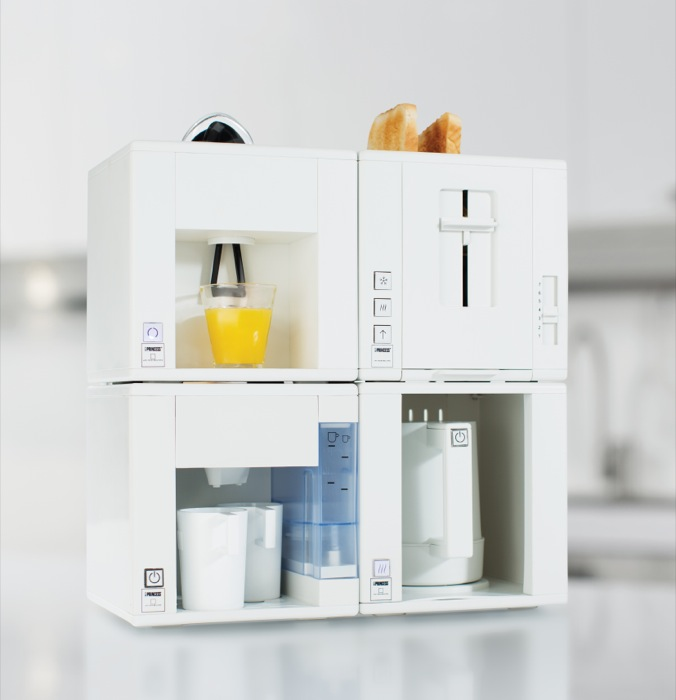 Princess Household Appliances B.V., azienda olandese e principale fornitore mondiale di piccoli elettrodomestici, ha vinto il prestigioso premio IF Design Award per il design del Compact4All, Dinner4All e Table Chef Pure