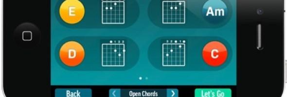 FourChords – L'App definitiva per il Karaoke con Chitarra. Ora tutti possono suonare la chitarra con i propri amici in modo semplice e veloce!