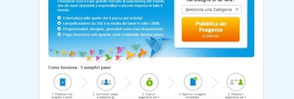 Freelancer in prima linea contro la disoccupazione: al via la versione italiana per facilitare la nascita di 50.000 nuovi imprenditori in sei mesi