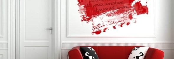 """A San Valentino scrivi """"Ti Amo"""" sui tuoi muri con H2art!"""