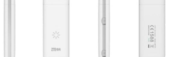 E' firmata ZTE la Datacard 4G LTE più piccola al mondo