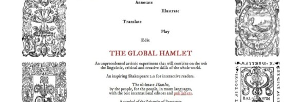 The Global Hamlet: il crowdsourcing della letteratura. Disponibile su Amazon.it il Manifesto con i principii ispiratori del progetto