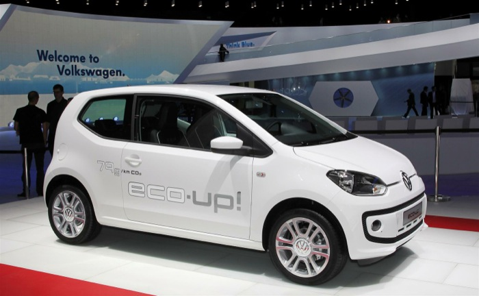 La Volkswagen eco up! City car con motorizzazione a metano