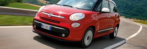 Fiat 500L: da oggi ancora più sicura con l'innovativo 'City Brake Control'