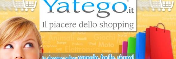 Yatego Italia, il centro commerciale online, continua a crescere e dà il benvenuto al 1000° cliente