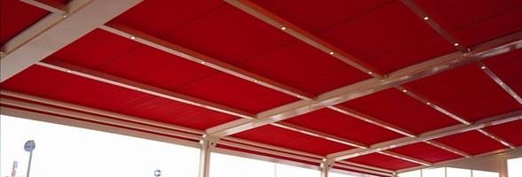 ALTO FR di Dickson: la prima tela per tende da sole ignifuga classe 1. Da qualche anno ALTO FR è presente sul mercato e soddisfa le esigenze di utilizzatori privati e professionali