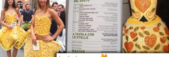 """15 anni per """"I Primi d'Italia"""" (Foligno, 26-29 settembre 2013). Primi piatti da assaggiare grandi chef da ascoltare personaggi da incontrare"""