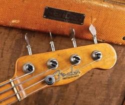 1952 Fender Precision Bass – Un peu d'histoire