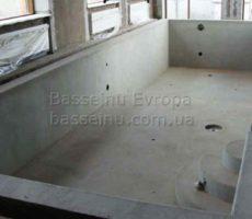 Строительство бассейна из бетона под ключ в Киеве фото № 6.
